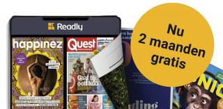 Reclamefolder blog thumbnail voor Goede actie! Profiteer 2 maanden gratis van Readly