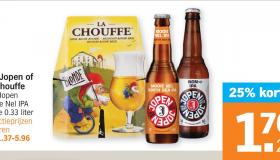 bier met korting