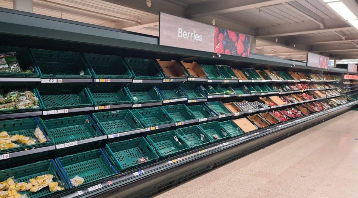 Britse supermarkten